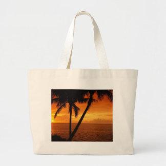 Florida Key's Sunset Large Tote Bag