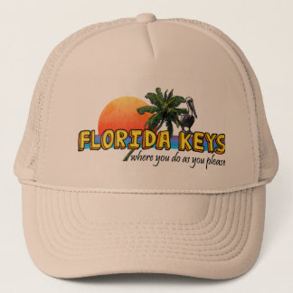 Florida Keys Trucker Hat