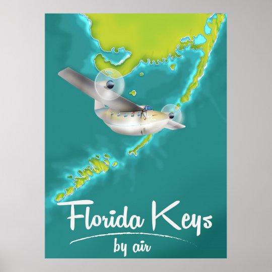 Florida Keys Vintage travel poster