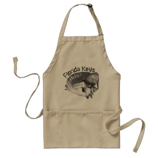 Florida Keys with Conch Shell Aprons