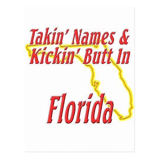 Florida - Kickin' Butt Postcard