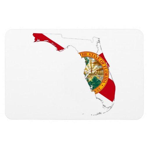 FLORIDA MAP VINYL MAGNETS