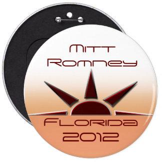 Florida Mitt Romney 6 Cm Round Badge