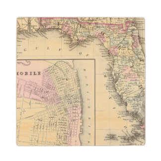Florida, Mobile Wood Coaster