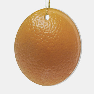 Florida Orange Christmas Ornament