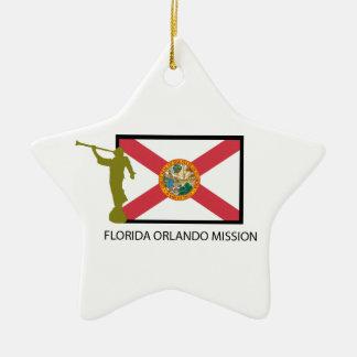 FLORIDA ORLANDO MISSION LDS CTR CHRISTMAS ORNAMENT