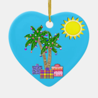 Florida Ornaments  Merry Christmas Ornament