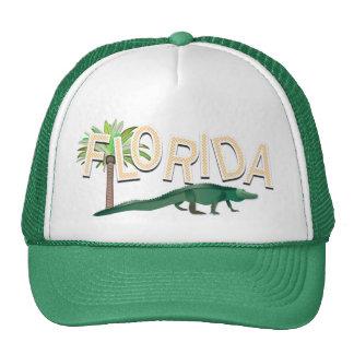 Florida Palm Tree And Alligator Cap