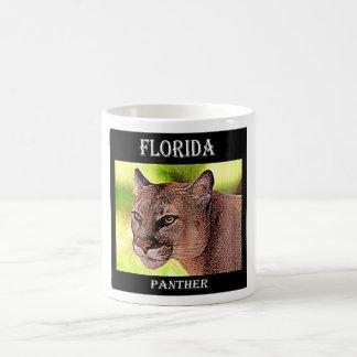 Florida Panther Basic White Mug