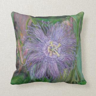 FLORIDA PASSION FLOWER VINE Pillow Throw Cushion