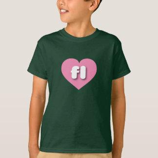 florida pink heart - mini love T-Shirt
