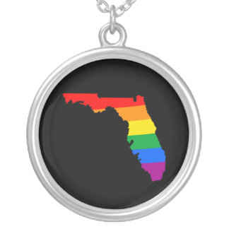 FLORIDA PRIDE -.png Custom Necklace