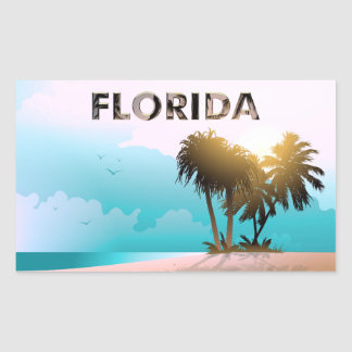 Florida Rectangular Sticker