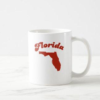 FLORIDA Red State Basic White Mug