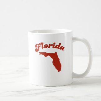 FLORIDA Red State Classic White Coffee Mug