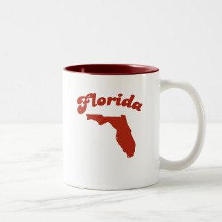 FLORIDA Red State Two-Tone Mug