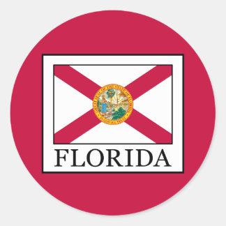 Florida Round Sticker