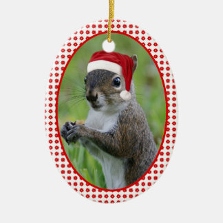 Florida Santa Squirrel™ Dated Two-Sideded Christmas Ornament