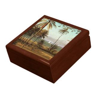 Florida Scene - Albert Bierstadt, artist Gift Box