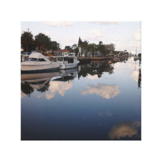 Florida scene canvas print