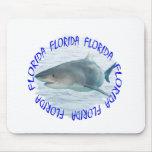 Florida shark mousepad