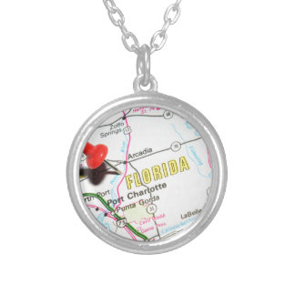 Florida Silver Plated Necklace