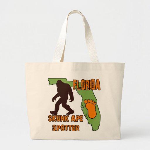 Florida Skunk Ape Spotter Canvas Bag