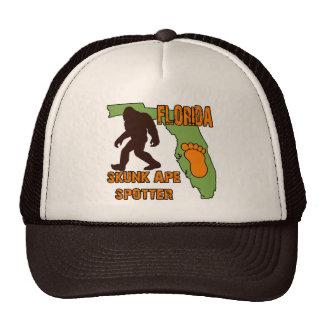 Florida Skunk Ape Spotter Mesh Hats