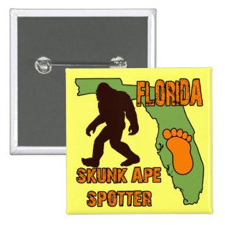 Florida Skunk Ape Spotter Pins
