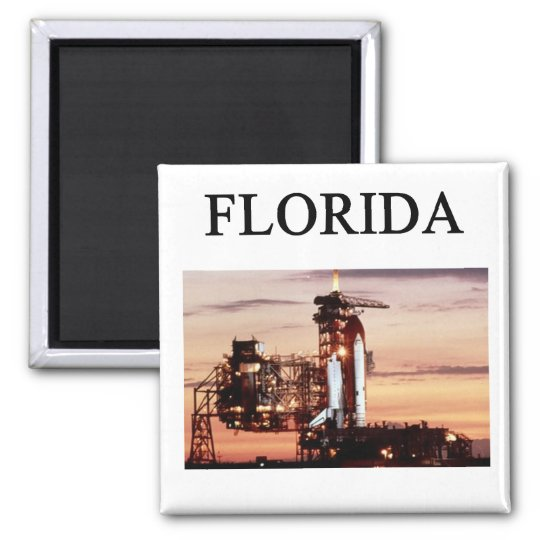 florida square magnet