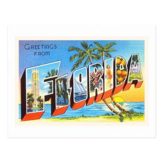 Florida State # 2 FL Old Vintage Travel