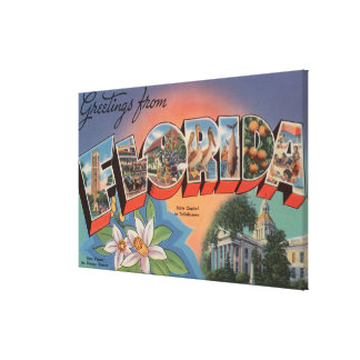Florida (State Capital Scene) Canvas Print