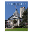 Florida State Capitols (Old and New), Tallahassee Postcard