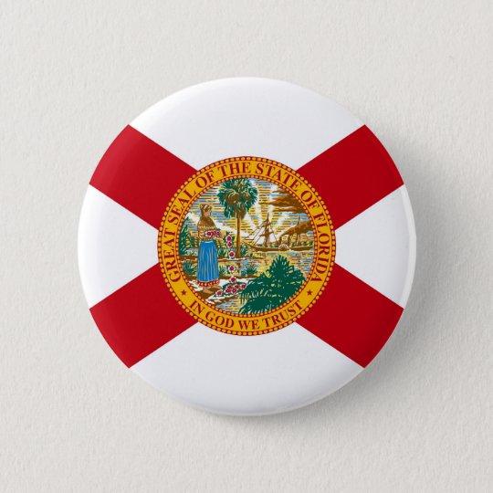 Florida State Flag 6 Cm Round Badge