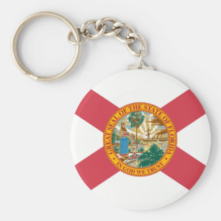 Florida state flag key ring