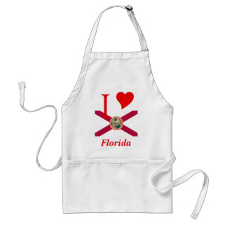 Florida State Flag Standard Apron