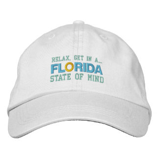 FLORIDA STATE OF MIND cap Embroidered Hats