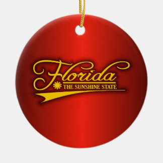 Florida State of Mine Christmas Ornament