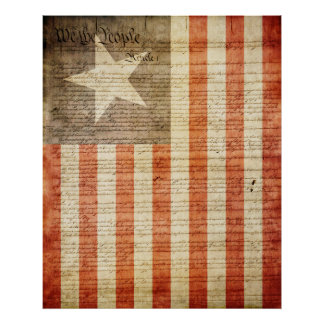 Florida State Provisional Flag 1861 Posters