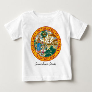 Florida State Seal and Motto Baby T-Shirt