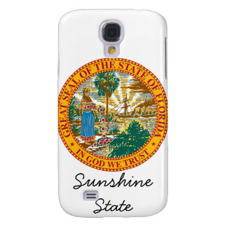 Florida State Seal and Motto Galaxy S4 Case