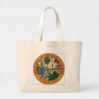 Florida State Seal Tote Bags