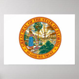 Florida State Seal Print
