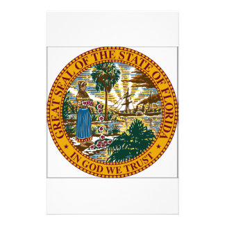 Florida State Seal Custom Stationery