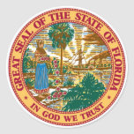 Florida State Seal Stickers
