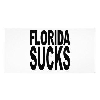 Florida Sucks Personalized Photo Card