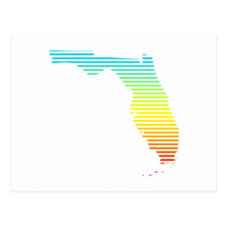 florida summer fade postcard