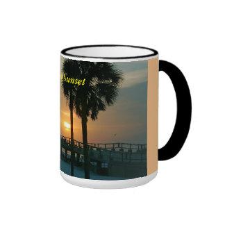 * Florida Sunset * Ringer Mug