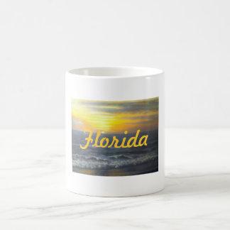 """""""FLORIDA SUNSET MUG"""" BASIC WHITE MUG"""