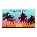 Florida Sunset Pack Of Standard Business Cards